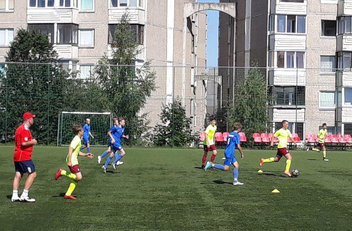 U16 ir U15 komandos sezonui ruošis Olecke