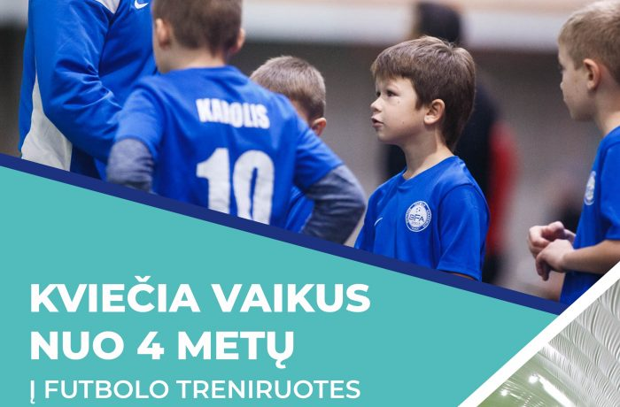 Kviečiame registruotis į treniruotes Baltijos futbolo akademijoje