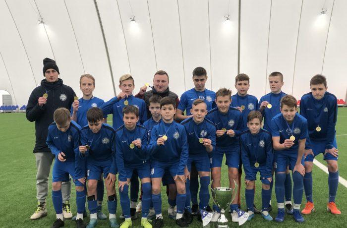 """Tarptautinio turnyro """"BFA Cup 2020"""" taurė – BFA auklėtinių rankose"""