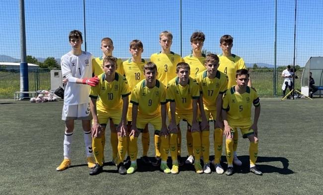 Lietuvos U-16 rinktinė su BFA nariais baigė pasirodymą Kroatijoje
