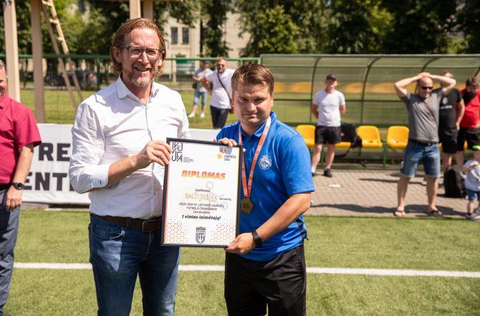 """BFA čempionų treneris G. Sidorovas: """"Man garbė dirbti su geriausiais Lietuvos vaikais"""""""