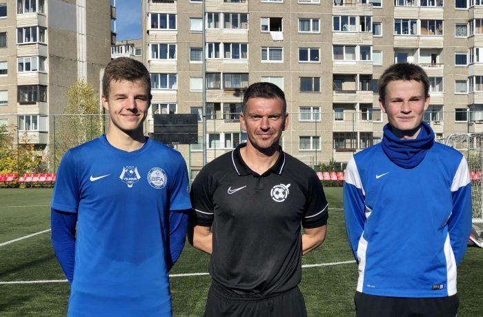 """BFA talentams – britų akademijos """"Soccer Assist Academy"""" treniruotė"""